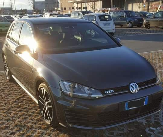 Volkswagen golf gtd 2.0 dsg