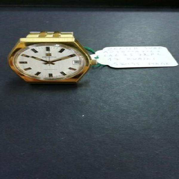 Zenith laminato oro con bracciale laminato orologio vintage