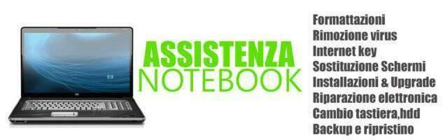 Assistenza notebook e desktop