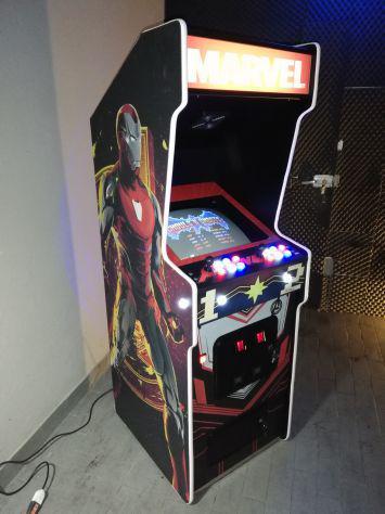Cabinato arcade jamma marvel
