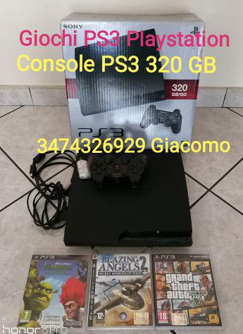 Console sony playstation ps3 da 320 gb