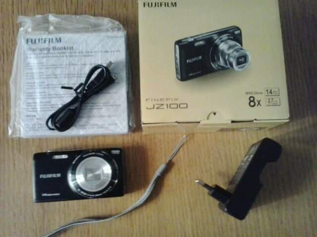 Fujifilm finepix jz100 black