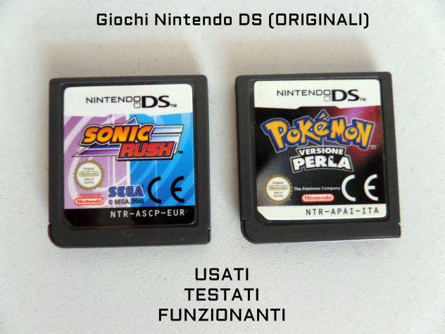 Giochi / cartucce nintendo ds (originali)