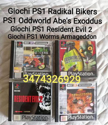 Giochi ps1 radikal bikers