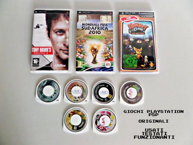 Giochi psp playstation originali funzionanti, testati