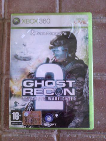 Giochi xbox 360 - ghost recon 2- gears of war 2