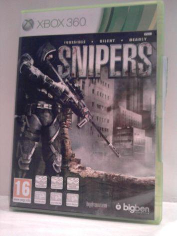 Giochi xbox 360 snipers-ninja blade
