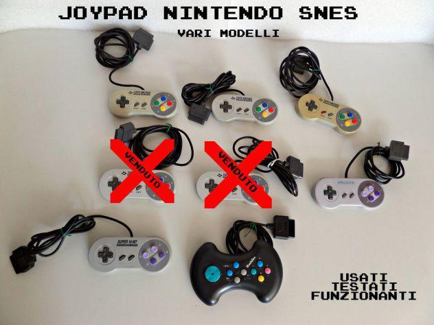 Joypad super nintendo snes retrò (varie tipologie)