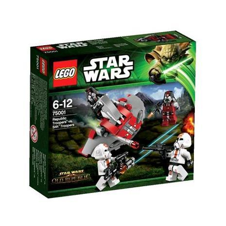 Lego 75001 Star Wars Republic troopers vs Sith Troope