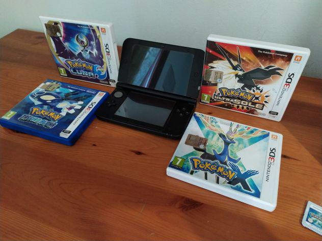 Nintendo 3ds xl + giochi pokemon