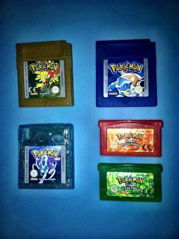 Nintendo gameboy - pokemon oro