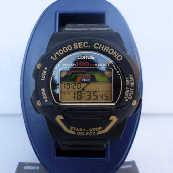 Orologio cronografo digitale lorus w349 anni 90