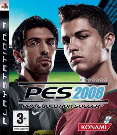 Pes 2008 italiano per playstation 3, ps3,play station 3