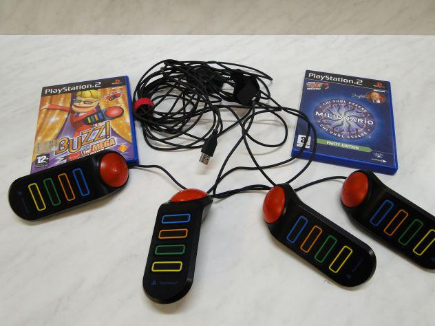 Ps2 buzzer joypad con giochi - a38