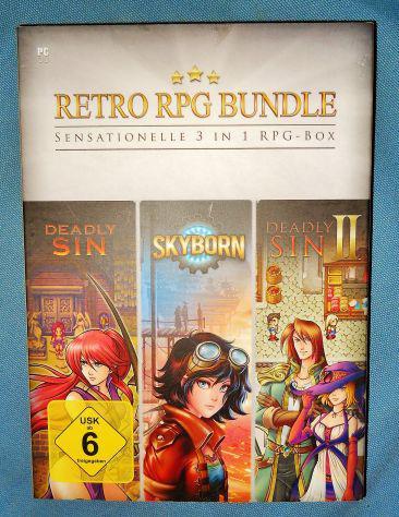 Retro rpg bundle pc giochi skyborn deadly sin 1 e 2 gdr