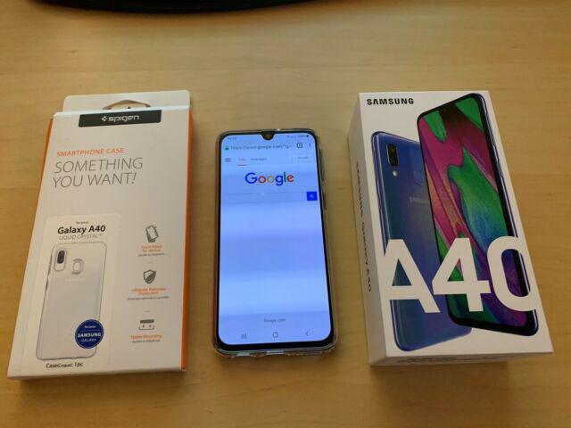 Samsung galaxy a40 dual sim blu