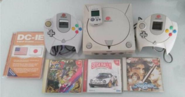 Sega dreamcast jap 5 giochi