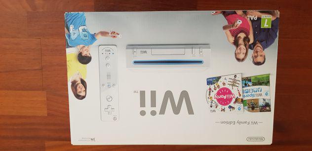 Wii completa e con tanti accessori e giochi