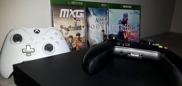 Xbox one x + controller elite + 3 giochi