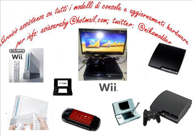 Xbox360 ps3 wii psp nds nuovo euro 1