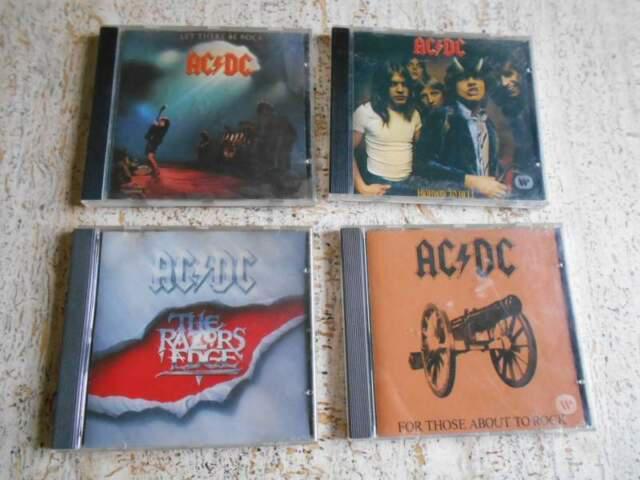 Ac dc lotto 4 cd anche singoli
