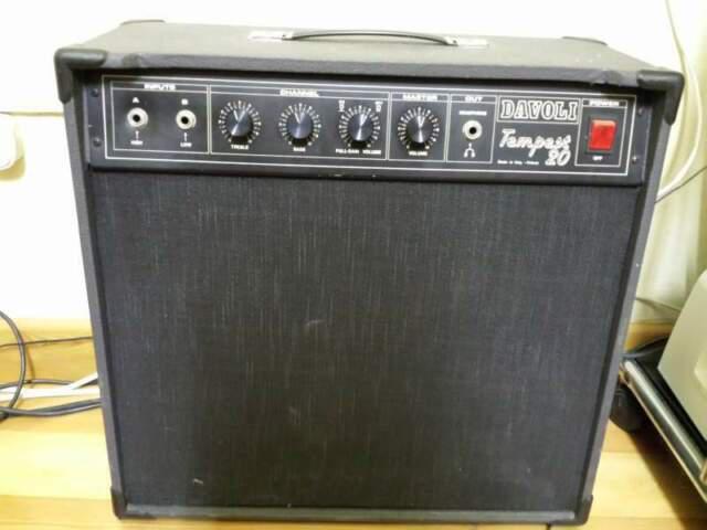 Amplificatore vintage davoli tempest 20