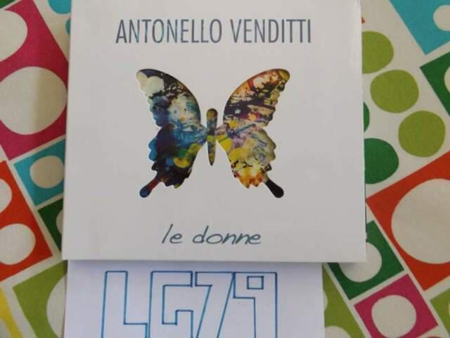 Antonello venditti 2 cd le donne raccolta best successi