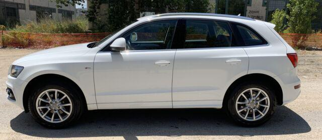 Audi q5 2.0 tdi s l ine full optional bianca uniproprietario