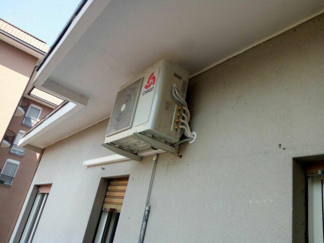 Montaggio aria condizionata