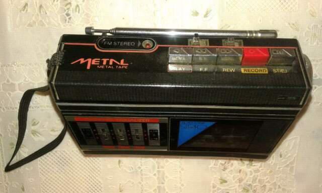 Rara radioregistratore riproduttore stereo