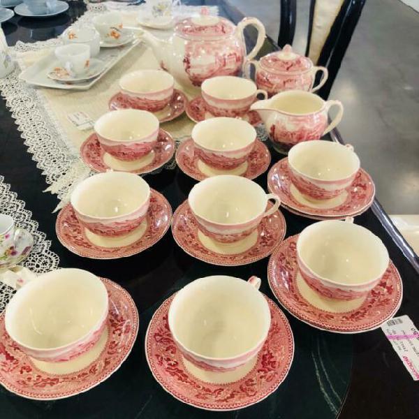 Servizio inglese 10pz made in england zuccheriera teiera