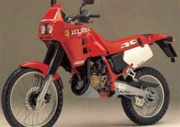 Vendo ricambi usati della gilera rc top rally 125 del 1989