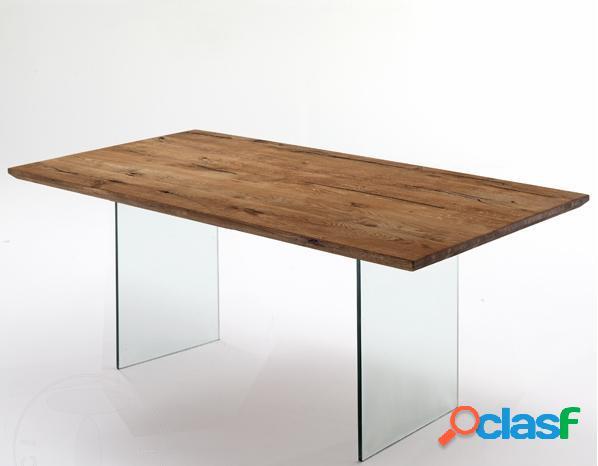 Tavolo pranzo rettangolare legno 【 OFFERTES Luglio 】 | Clasf