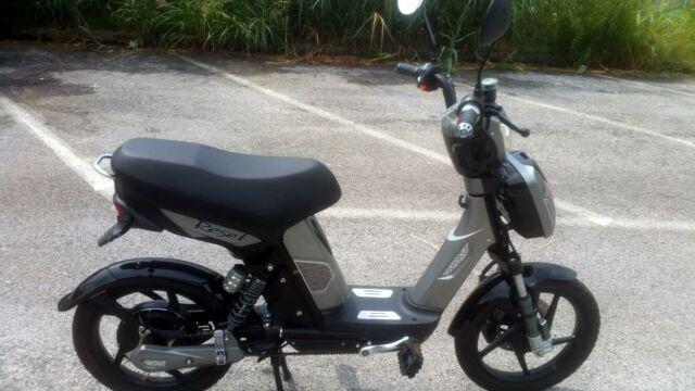 Bicicletta elettrica reset nera