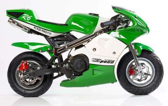 Mini moto kxd 008 nuove