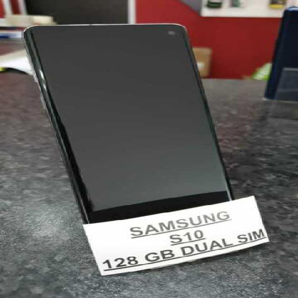 Samsung s10 dual sim 128 gb black usato perfetto
