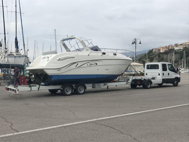 Trasporto barche e gommoni anche in eccezionale prezzi
