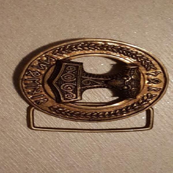 Fibbia thor's hammer per cintura