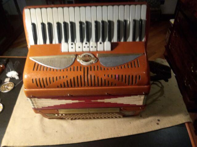 Fisarmonica 120 bassi crosio nera