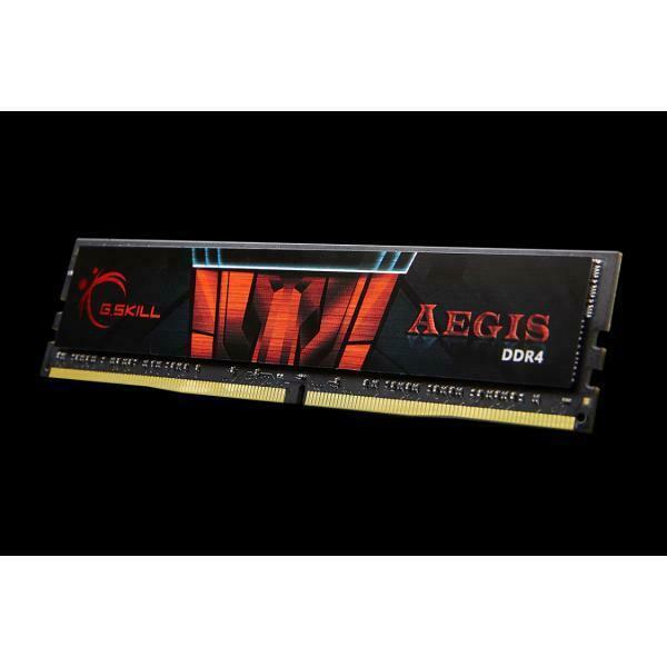 G.skill aegis f4-2400c17s-4gis memoria 4 gb ddr4 2400 mhz