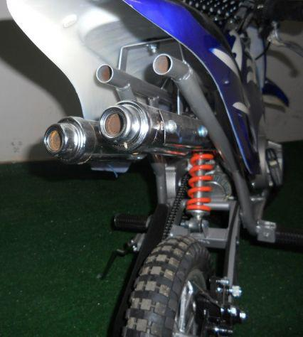 Minicross 49cc con ruote da 8 - minimoto cross 2 tempi aria