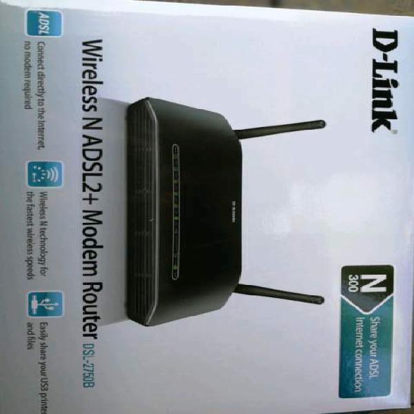 Modem router d