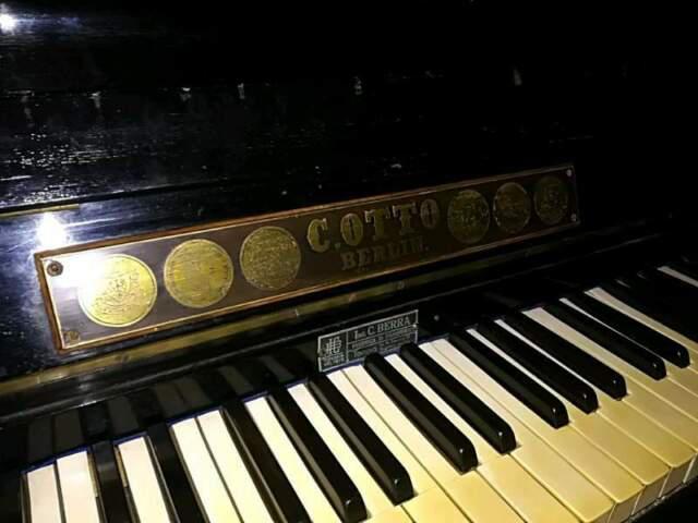 Pianoforte c. berra vintage primi del 900
