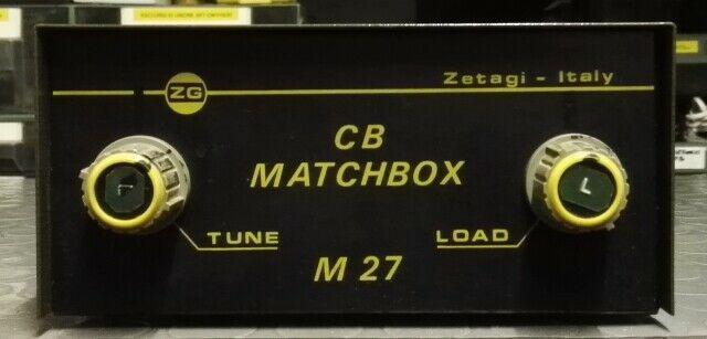 Accordatore antenna cb matchbox m27