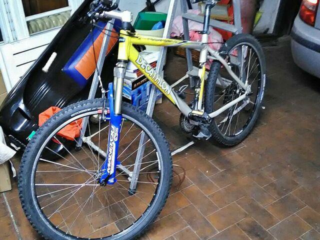 Bicicletta decathlon rockrider 26