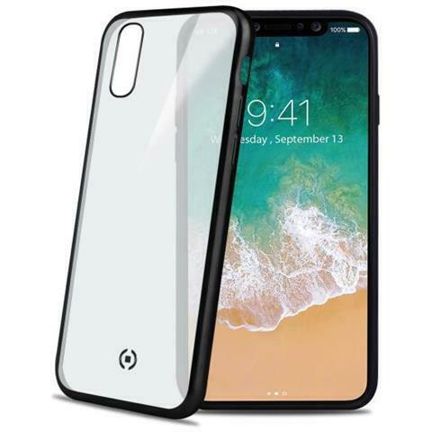 Cover in tpu per iphone x colore trasparente