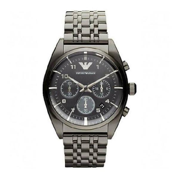 Emporio armani classic gray ar0374 orologio uomo al quarzo