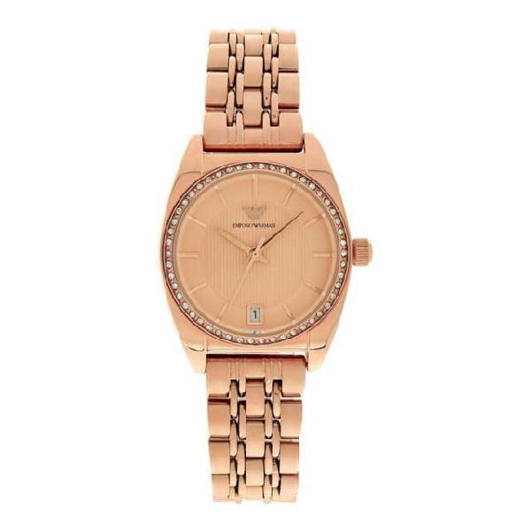 Emporio armani classic rose gold ar0381 orologio donna al