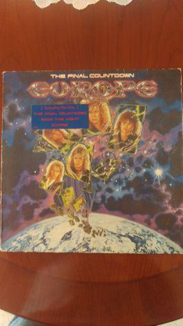 "LP 33 giri degli EUROPE ""The Final Countdown"""