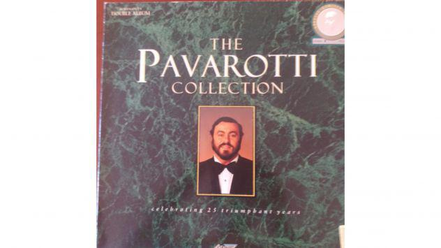"Lotto composto da 2 Lp 33 giri ""The Pavarotti Collection"""